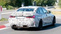 2021 BMW M3 Saloon and M4 Coupe spy photos