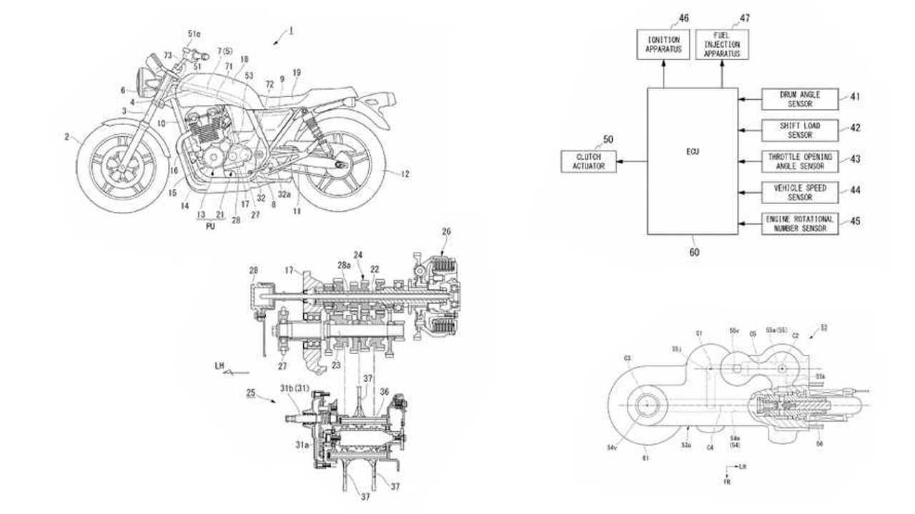 Honda Semi Auto Clutch Patent