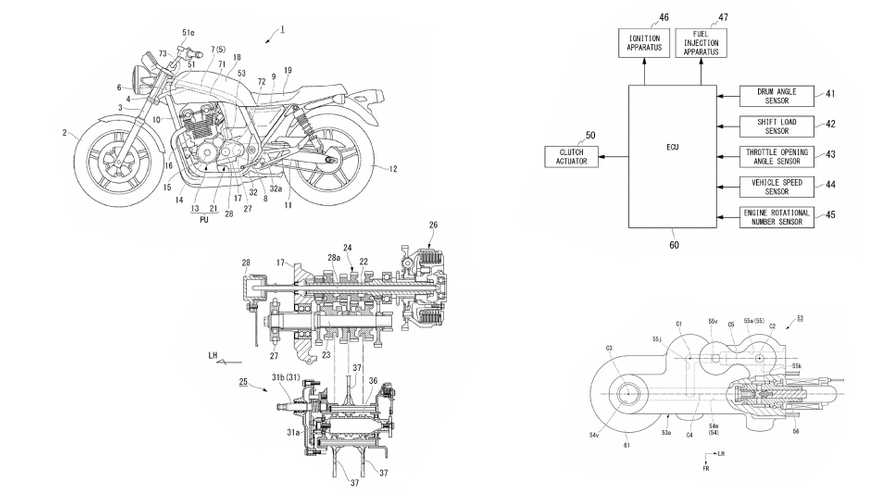 New Patent Shows Honda Just Won't Give Up On Semi-Auto Clutch Technology
