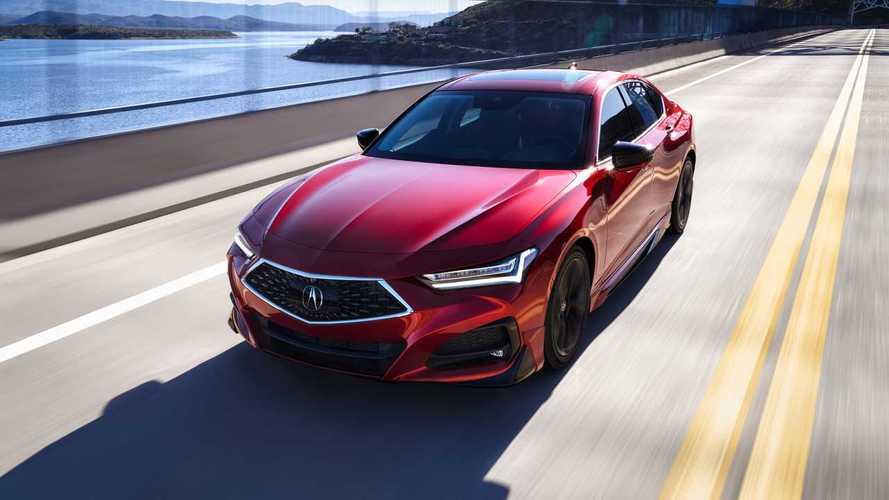 Acura показала TLX – свой самый драйверский седан
