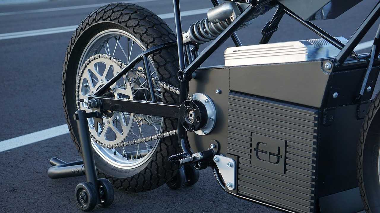 Ed Motorcycles: Concept Z - Battery