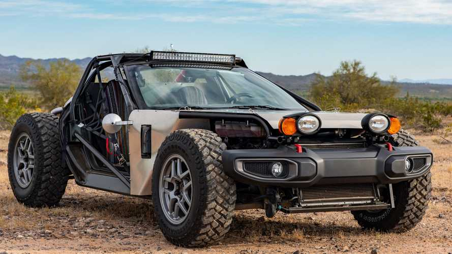 Chevy Corvette C5 Buggy Is A Stripped-Out Dune Machine