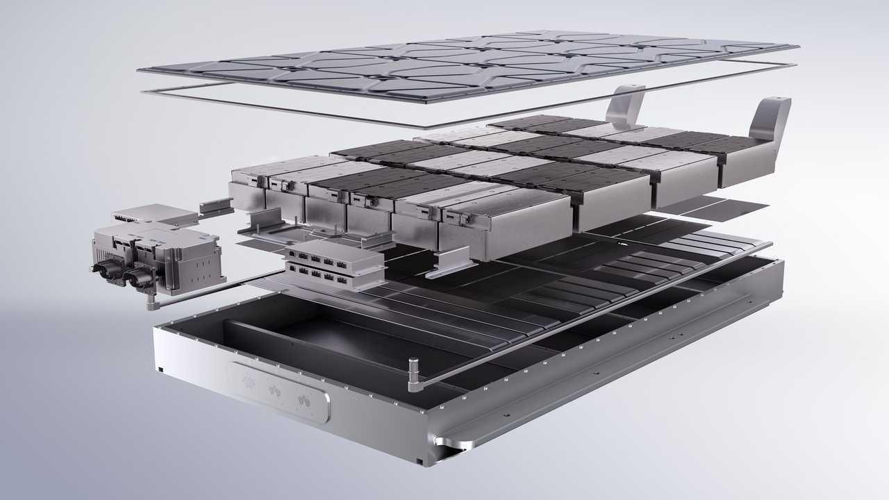 Aiways U5 - battery sandwich structure