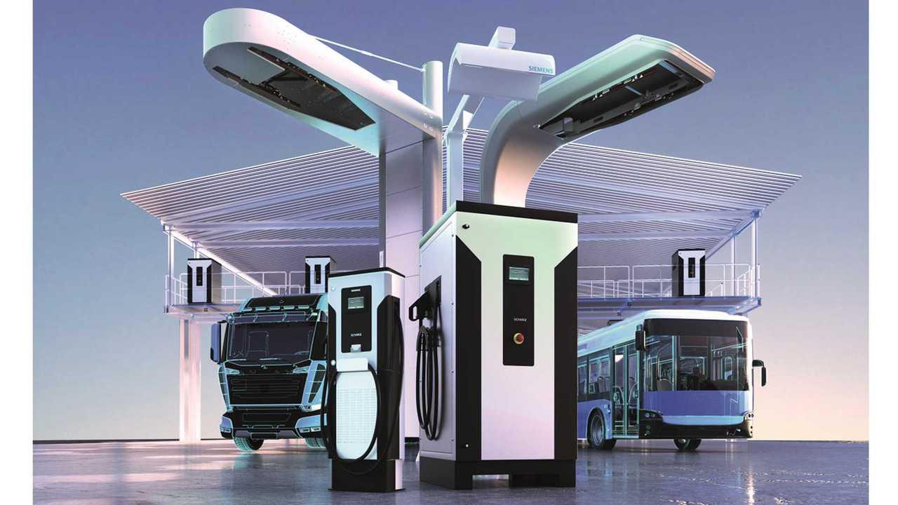 Siemens charging infrastructure