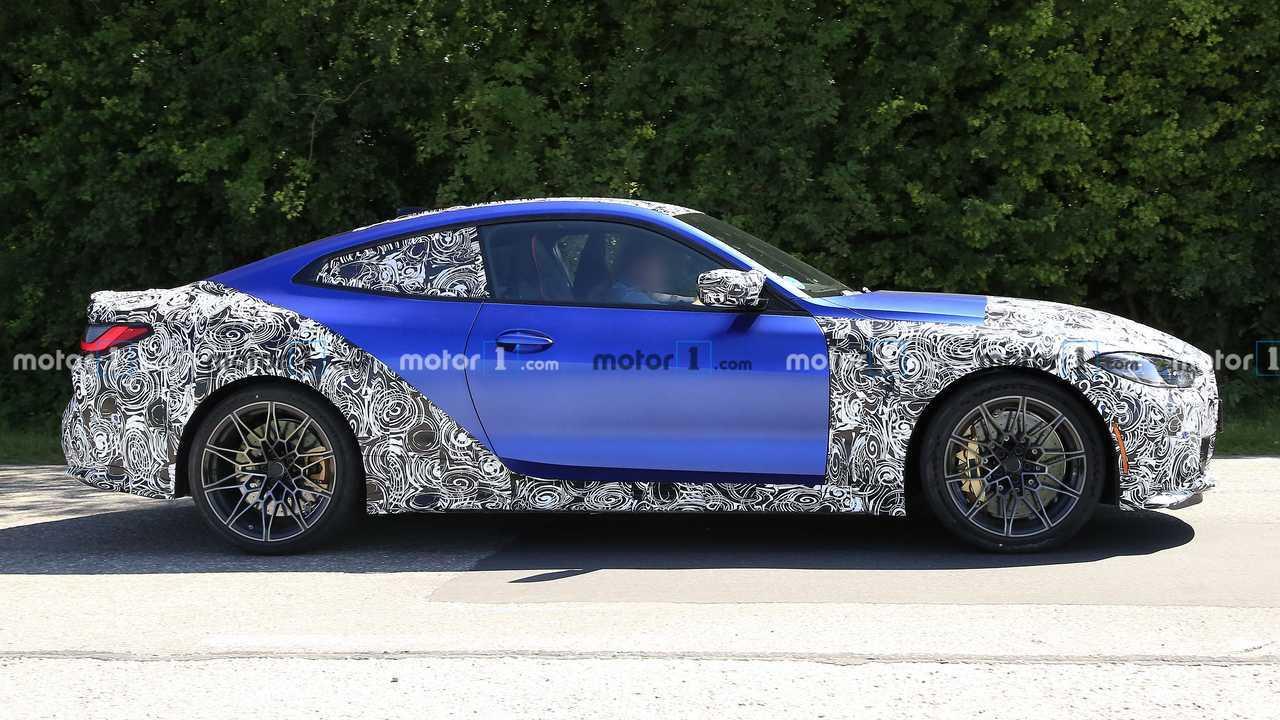 Новые шпионские фото BMW M4. Профиль
