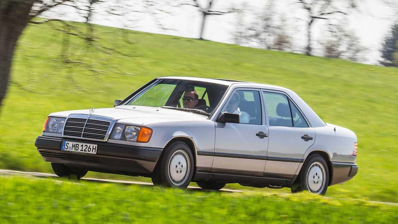 1984 bis 1997: Mercedes-Benz Baureihe 124