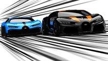 Bugatti Chiron Pur Sport и Super Sport 300+