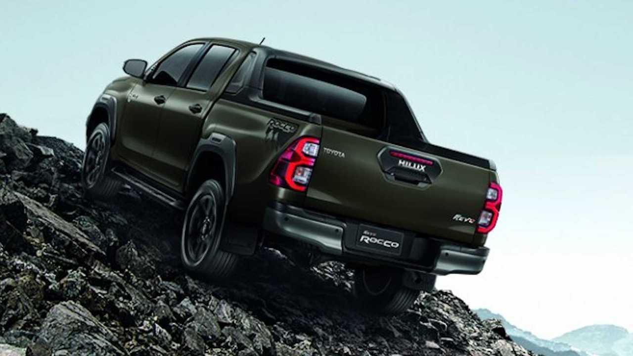 2021 A Toyota Hilux Thaiföldön indult