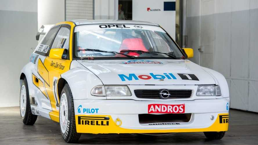This Markku Alén race car is the most exciting Opel Astra ever