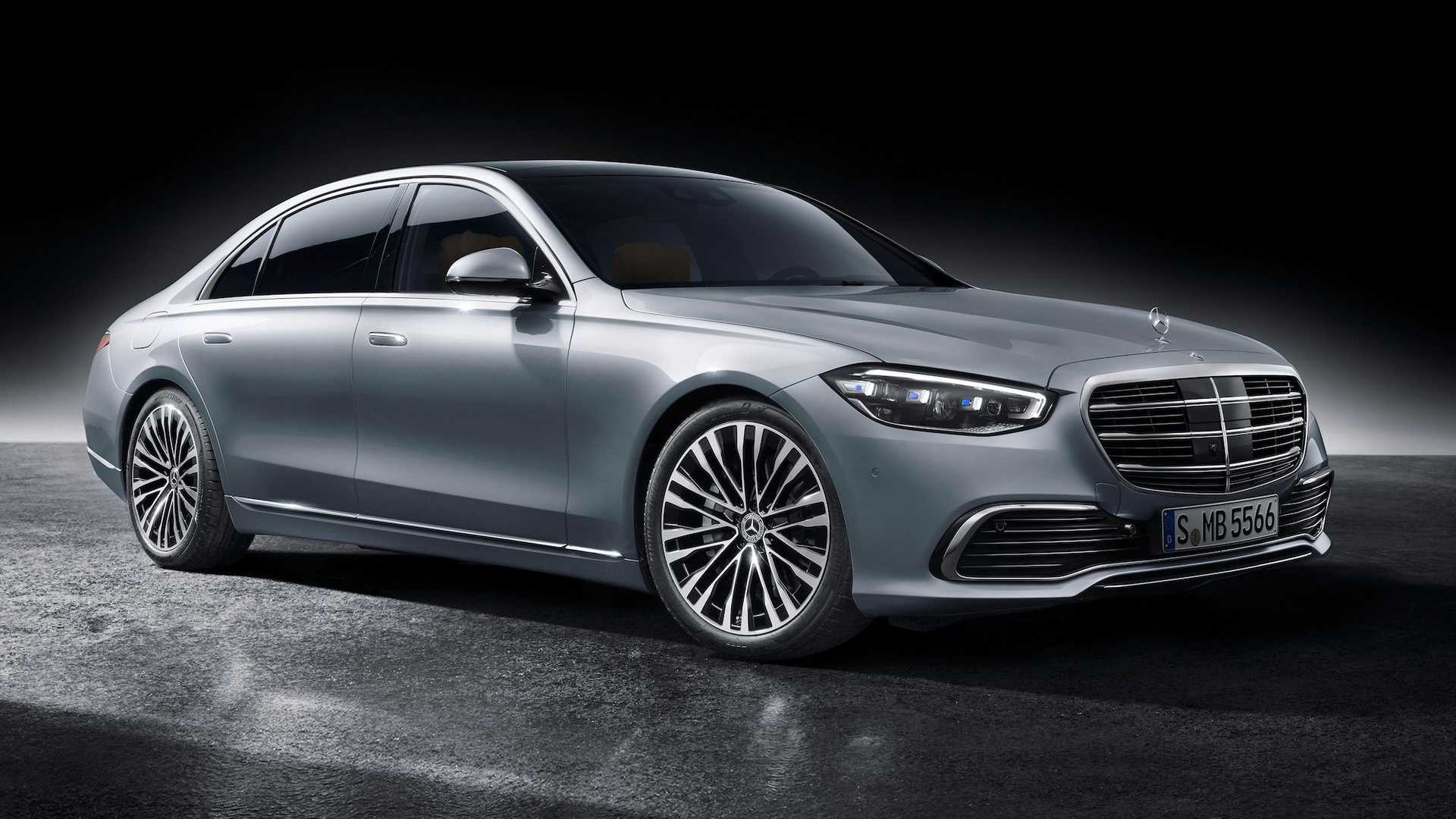 2021 mercedes sclass revealed iconic looks modern tech