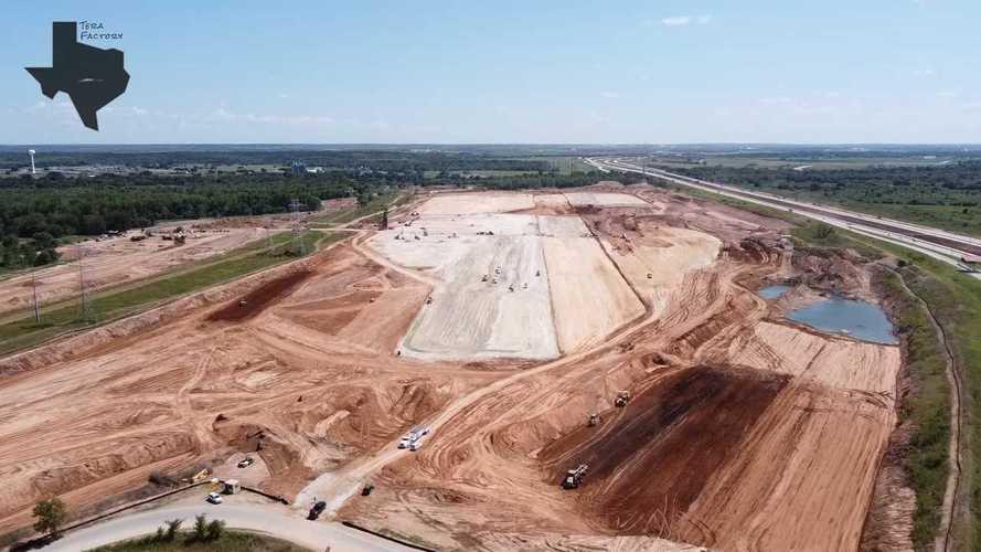 Check Out Tesla Giga Austin Progress Through End Of August