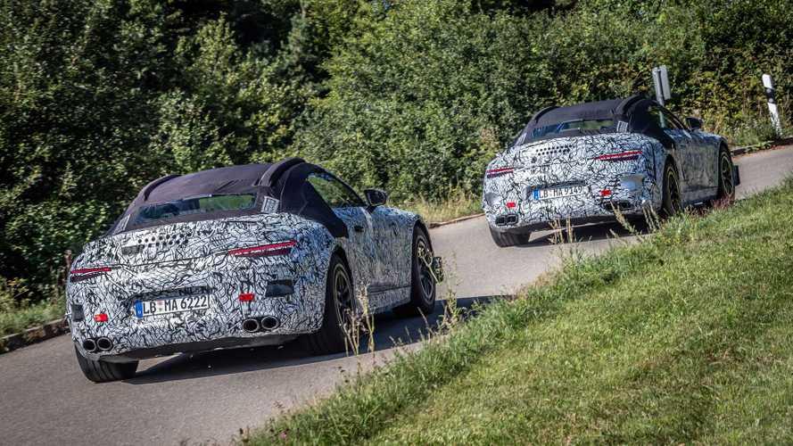Début des essais routiers pour la Mercedes-AMG SL Roadster