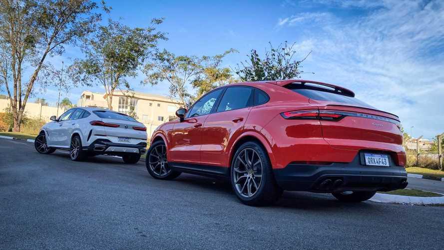 Comparativo: BMW X6 e Porsche Cayenne Coupé - Pioneirismo ou esportividade?