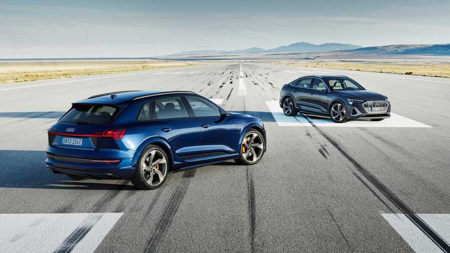 Audi bumps up the sportiness with 496 bhp e-tron S and e-tron S Sportback