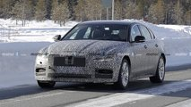 Jaguar XF facelift spied - saloon and estate