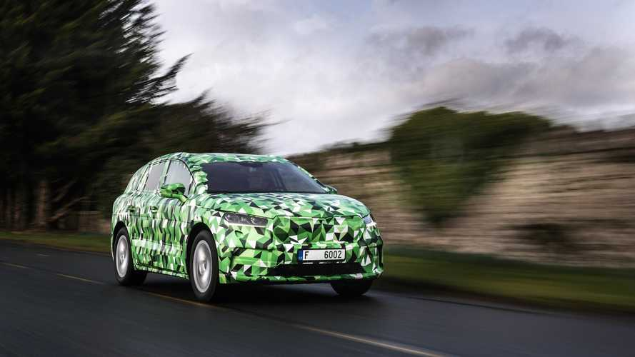 Skoda Shows Camouflaged Enyaq iV Ahead Of Its Reveal Later In 2020