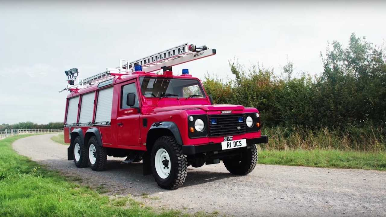 Is this Land Rover Defender 6x6 the ultimate classic fire engine?