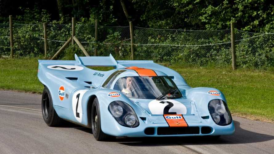 Iconic Gulf-liveried Porsche 917K appearing at Castle Combe this weekend