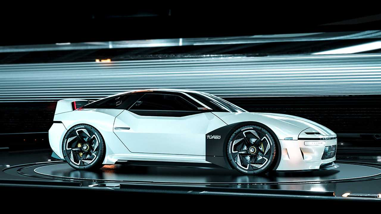 Mitsubishi 4000GT Hayali Tasarımı (Render)