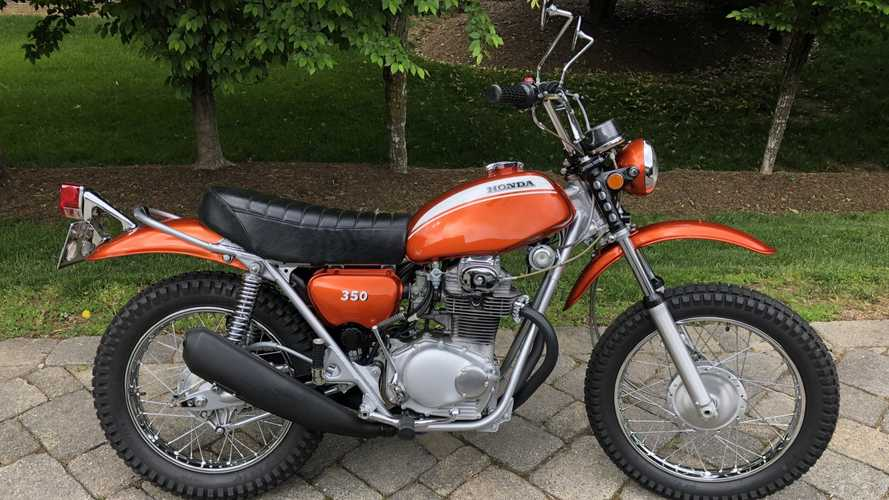 1971 Honda SL350