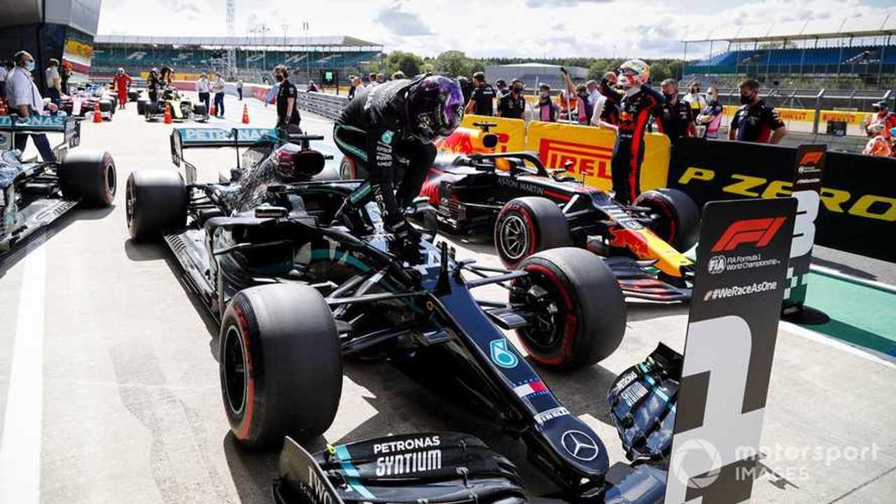Lewis Hamilton takes pole at British GP 2020