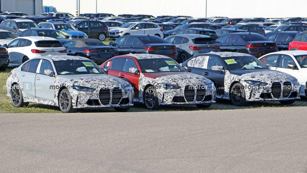 BMW M3 2021, fotos espía con poco camuflaje