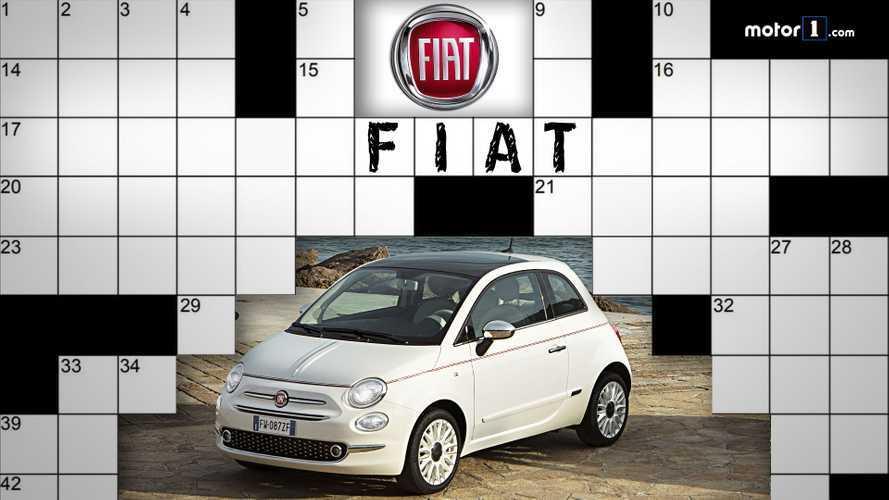 Quanto ne sapete di Fiat? Il cruciverba di Motor1.com