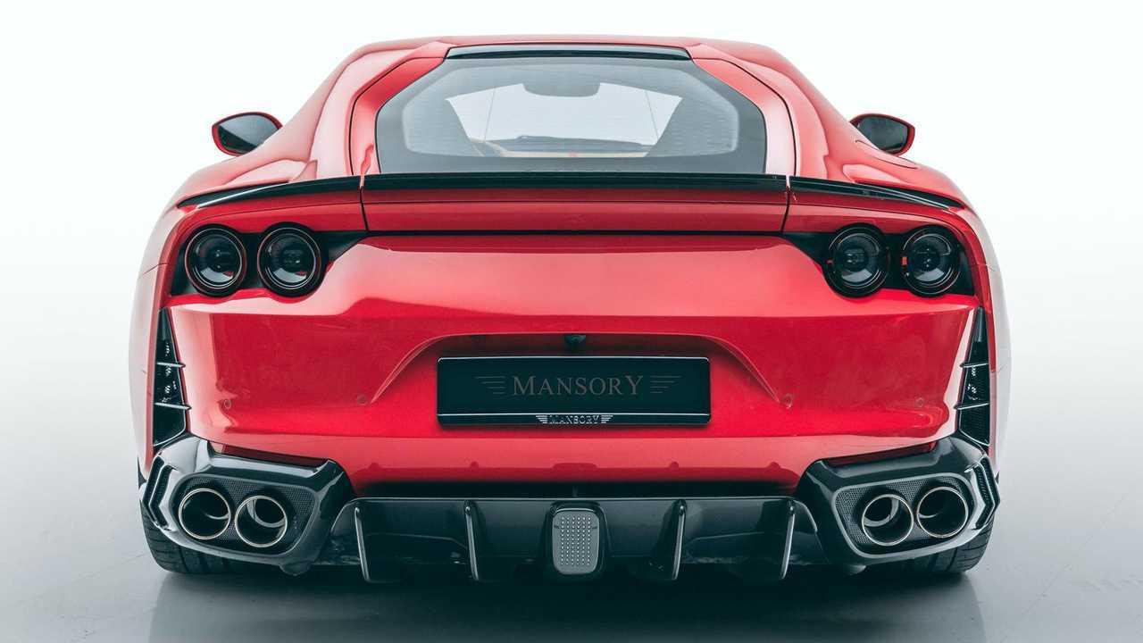 Mansory Engalana El Aspecto Del Ferrari 812 Superfast