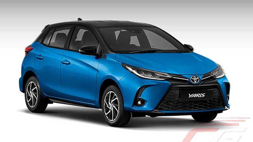 Novo Toyota Yaris 2021: compacto reestilizado surge agora na versão hatch