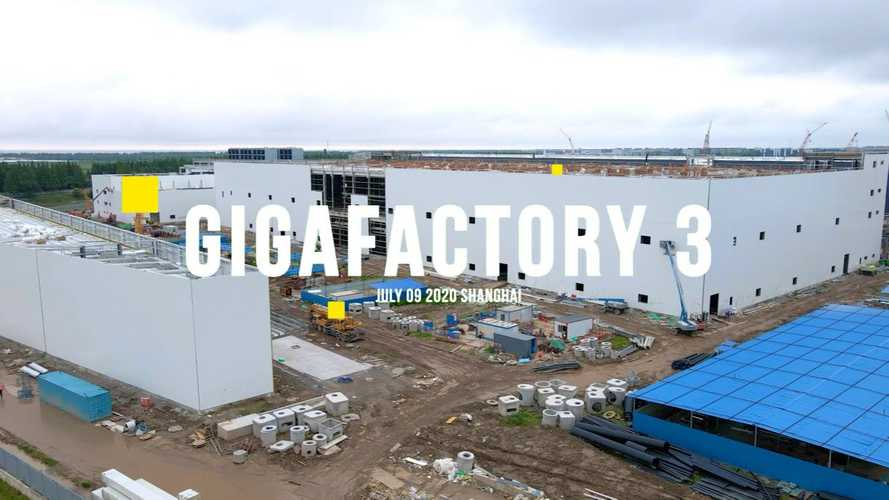 Tesla Gigafactory 3 Already Produced About 50,000 Model 3