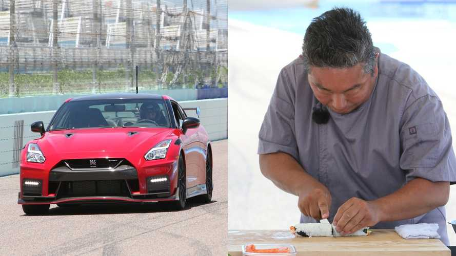 We Raced A Nissan GT-R Nismo Against A Master Sushi Chef