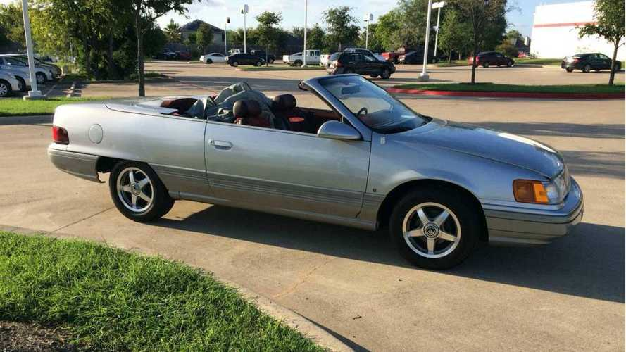 Mercury Sable Convertible concept looking for a new home