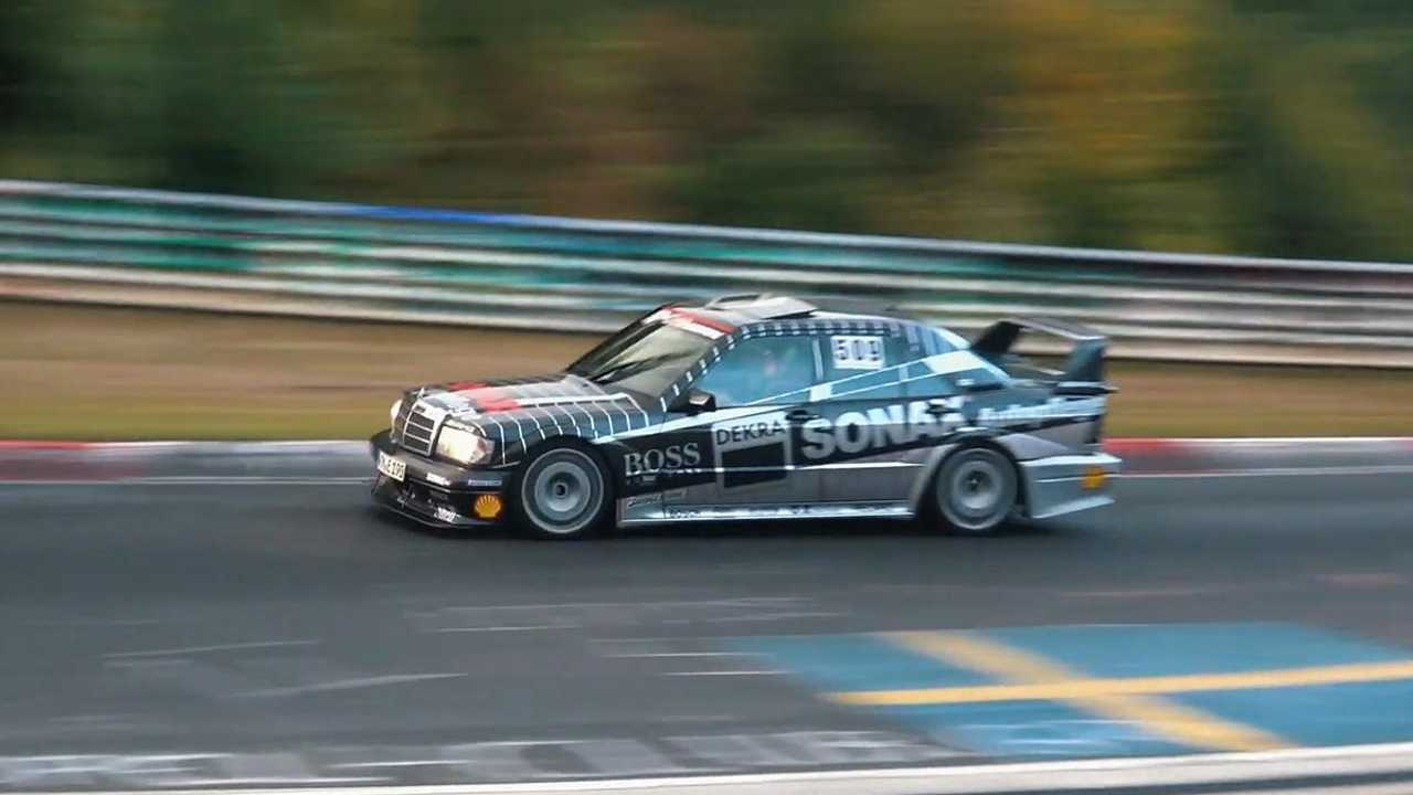 Watch this Mercedes 190E Evo II tear up the Nürburgring