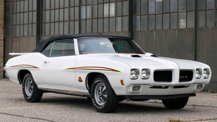 Rare 1970 Pontiac GTO Judge convertible for sale