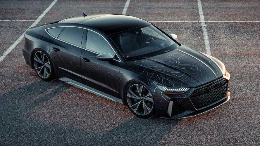 Un'Audi RS7 da urlo, 962 CV e una livrea speciale