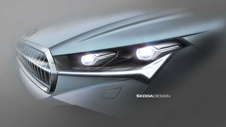 Skoda Enyaq iV lights up in new teaser, debuts September 1