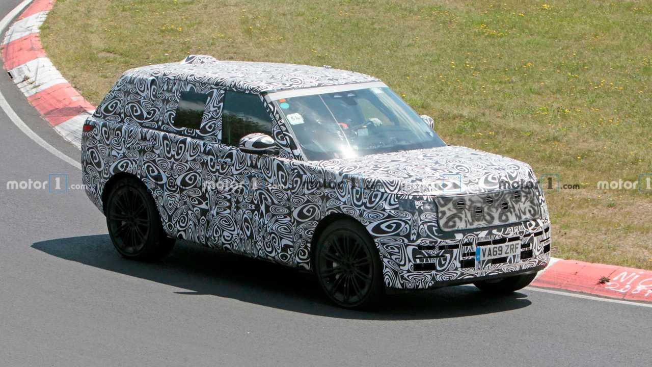 2021 Range Rover Casus Fotoğraflar