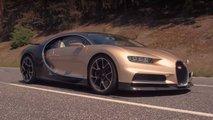 bugatti chiron 261 mph video