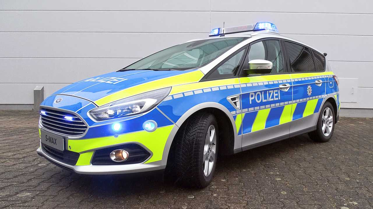 Polizeiautos in Deutschland: Ford S-Max
