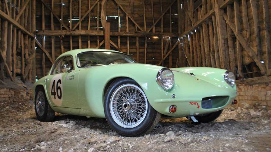 Lotus Elite that starred at 1958 Earls Court Motor Show is set to star again