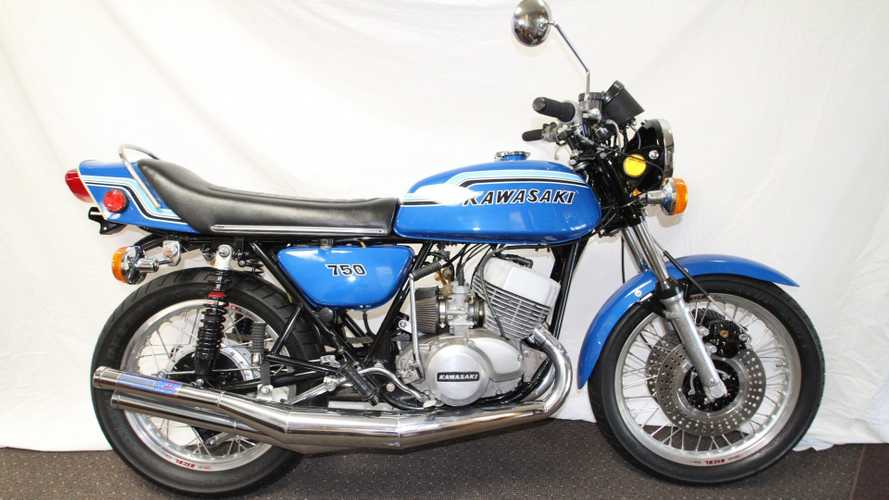 "Here's Your Chance To Buy A 1972 Kawasaki H2 ""Widowmaker"""