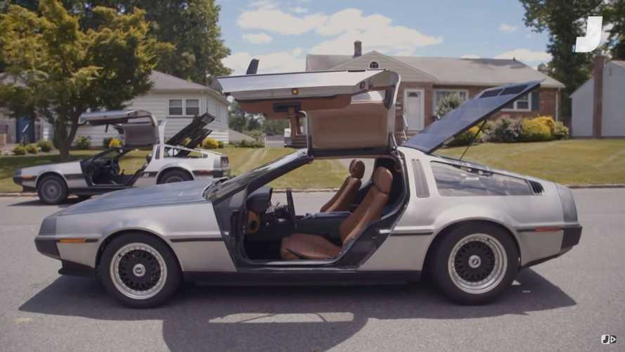 Watch: Man custom-builds world's only four-seater DeLorean