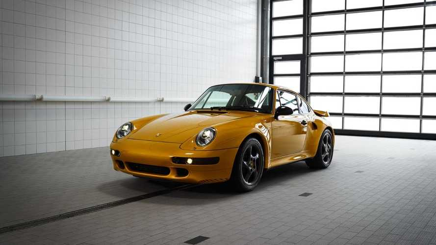 Porsche unveils 'Project Gold' 993 Turbo – and it's for sale!
