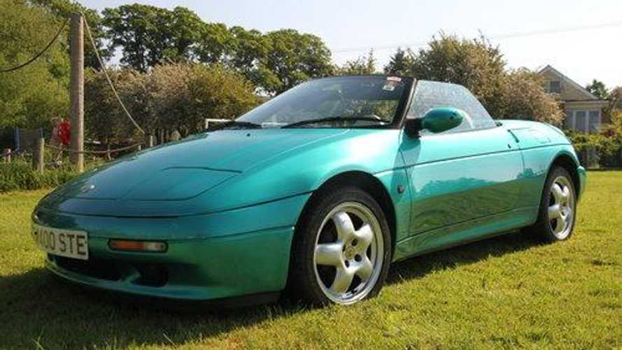 Classics for sale: TV-featured Lotus Elan S2