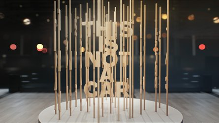 Volvo au salon de Los Angeles... sans voiture