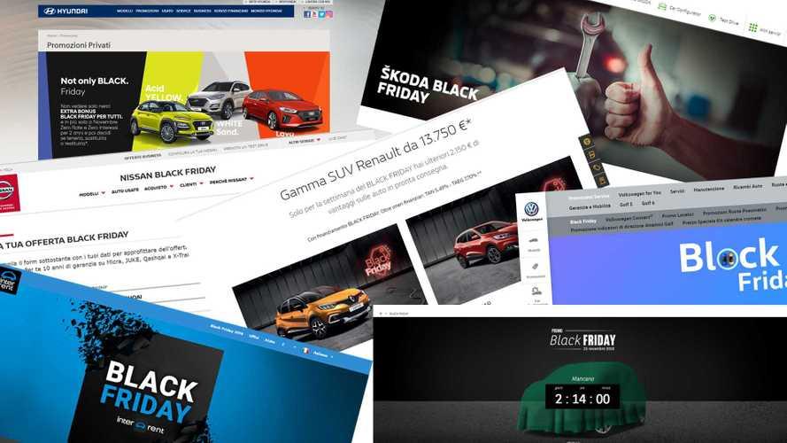 Black Friday, tutti gli sconti e le promozioni per auto nuove o a noleggio