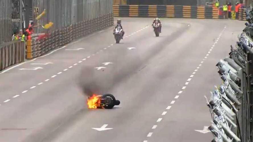 Crash At Macau GP Sends Several Riders To The Hospital