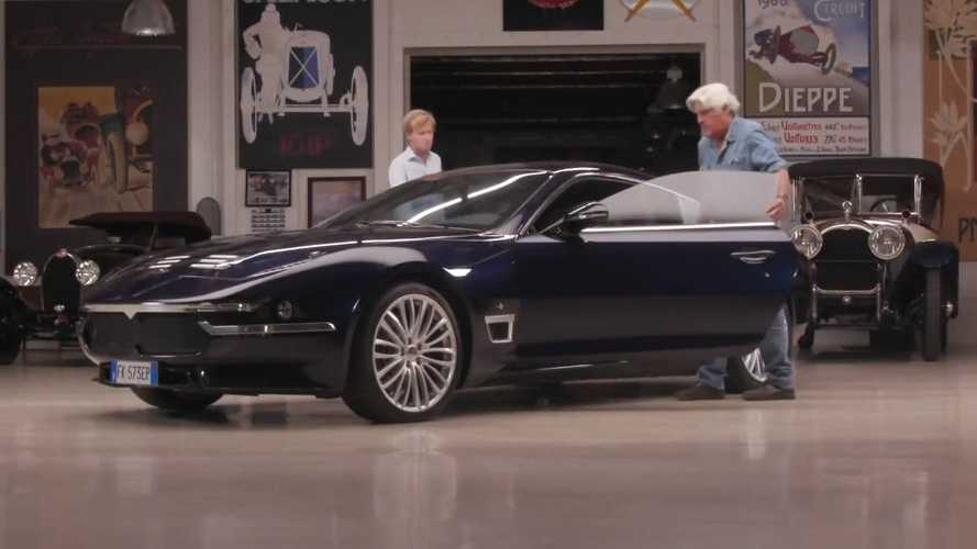 Ultra-Rare Touring Superleggera Visits Jay Leno's Garage