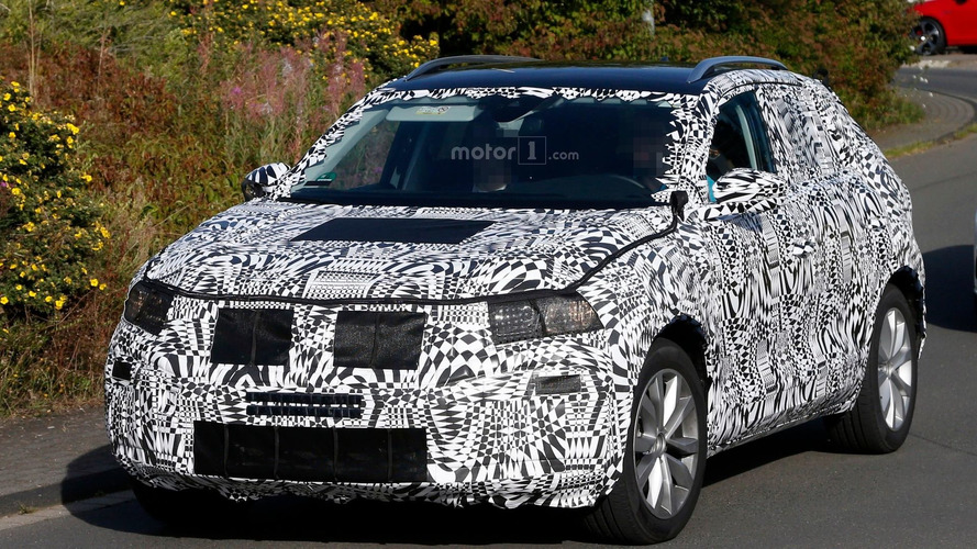 VW Polo-based SUV spy photo