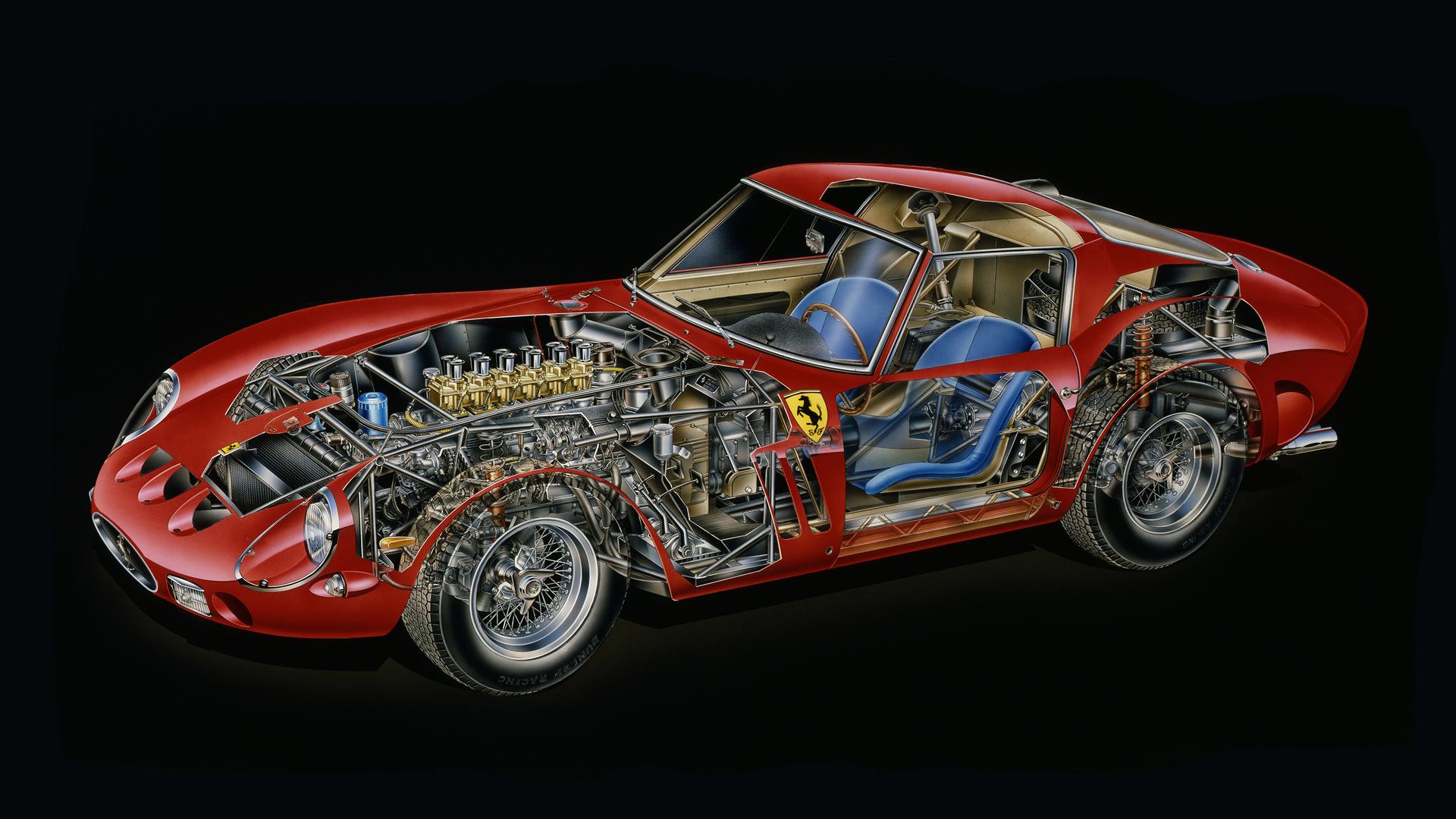 Kimble Cutaway 1962 Ferrari 250 GTO